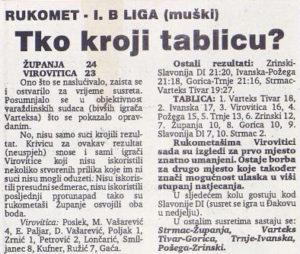 Virovitički list 26.03.1993
