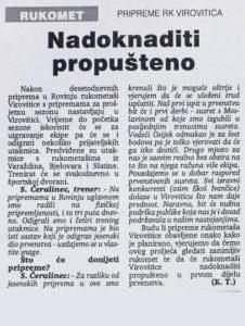 Virovitički list, 28.01.1994