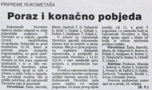 Virovitički list, 18.02.1994